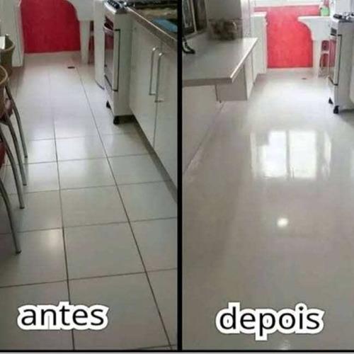 fazemos limpeza de piso e pintura de piso também é limpeza