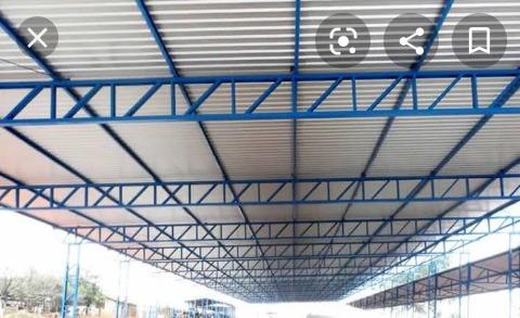 fazemos porta portão treliça estrutura métalica 86995168252