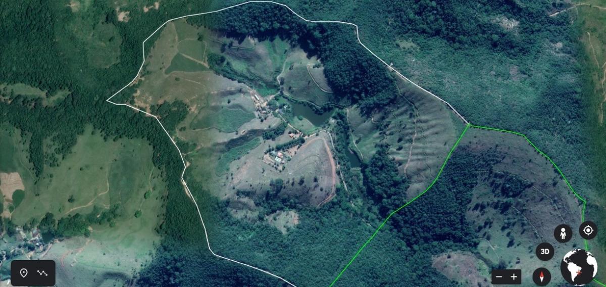 fazenda 208 hectares. ponte nova / barra longa - 6600