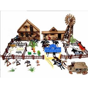 Fazenda Bonanza Forte Apache Os Bonecos Do Tamanho Gulliver