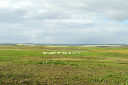 fazenda com 2600 hectares  entre rosário sul e alegrete - rs