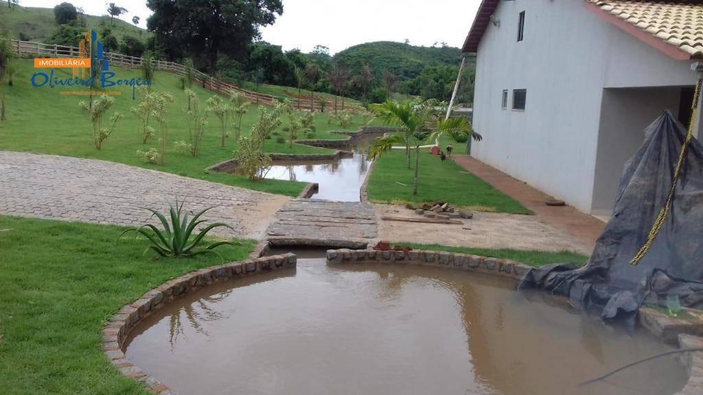 fazenda com 3 dormitórios à venda, 2565200 m² por r$ 5.500.000,00 - zona rural - itapuranga/go - fa0036