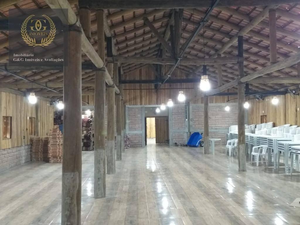 fazenda com 6 dormitórios à venda, 100000 m² por r$ 2.500.000 - águas claras - viamão/rs - fa0001