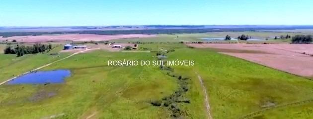 fazenda com 603 hectares em restinga seca - rs