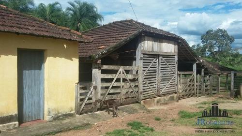 fazenda em piracanjuba 160 alqueires - pecuária - 534