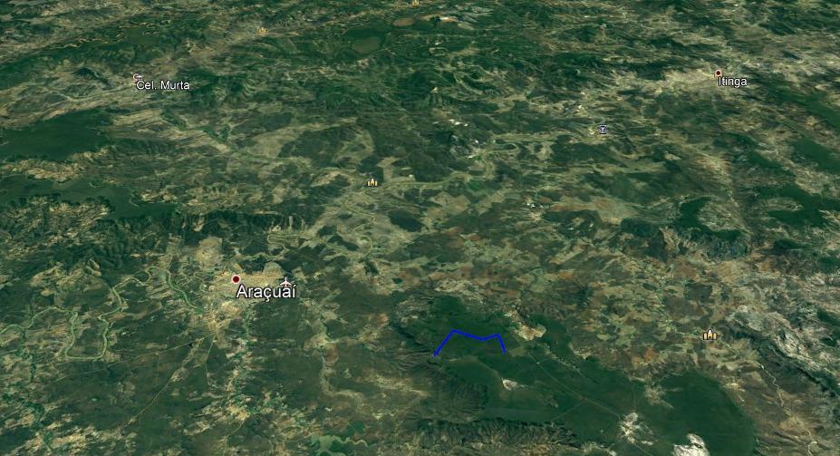 fazenda para reserva legal em araçuai-mg - 7553