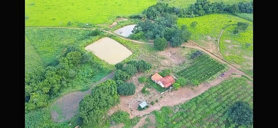 fazenda paraíso escriturada com duas represas