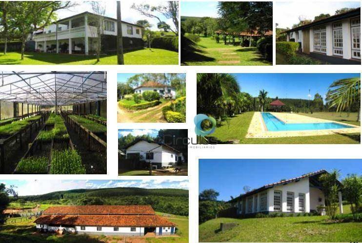 fazenda à venda, 2660064 m² por r$ 10.000.000,00 - zona rural - botucatu/sp - fa0015