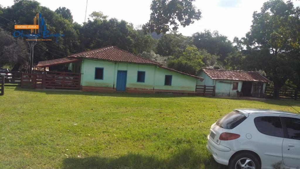 fazenda à venda, 55 alqueires por r$ 3.575.000 - zona rural - itapuranga/goiás - fa0045
