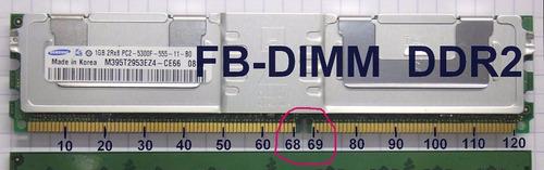 fb-dimm kingston valueram 2gb ecc fully buffered ddr2 667