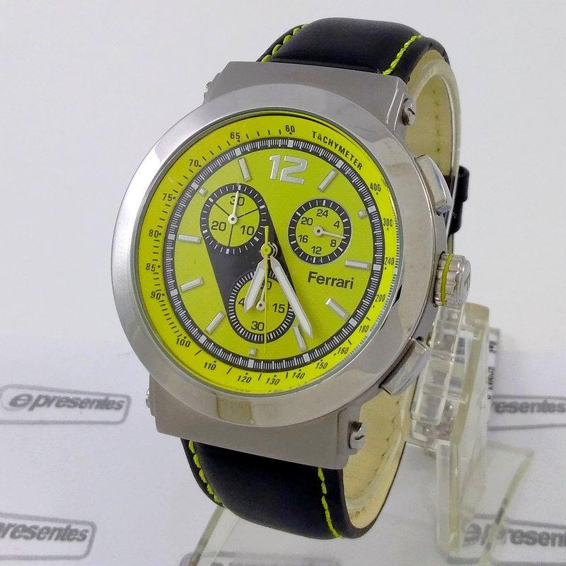0525bb44ee6 fc007-a relógio ferrari runner cronógrafo masculino pulse... Carregando  zoom.