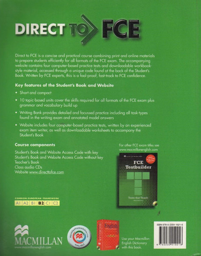 fce direct to student's book by roy norris & linda edwards