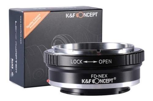 fd-nex adaptador fd montaje de lentes e de sony nex-3 nex-5