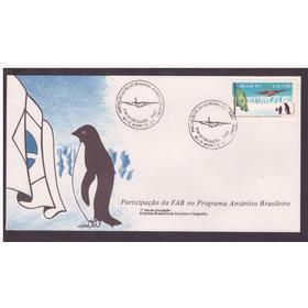 Fdc-417 1987 Participação Fab Programa Antártico Brasileiro