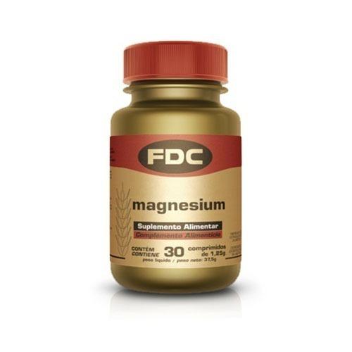 fdc magnésio 500mg comprimidos 30