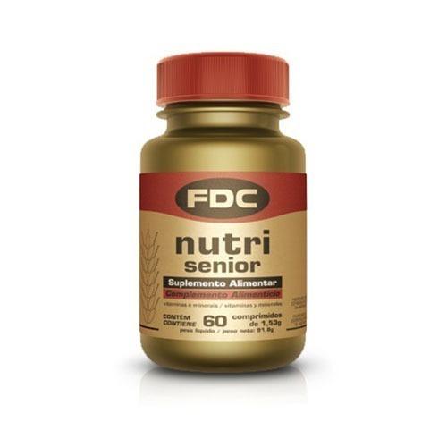 fdc nutri senior antioxidante 60 comprimidos,