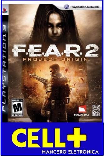 fear 2 project origin juego en disco físico ps3