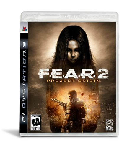 f.e.a.r. 2: project origin. ps3. nuevo y sellado