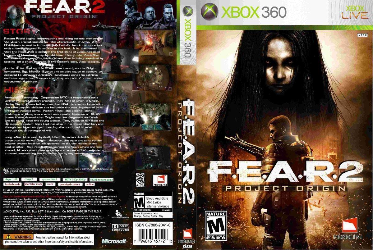 Fear 2 project origin xbox 360 lt 3. 0 r$ 13,52 em mercado livre.