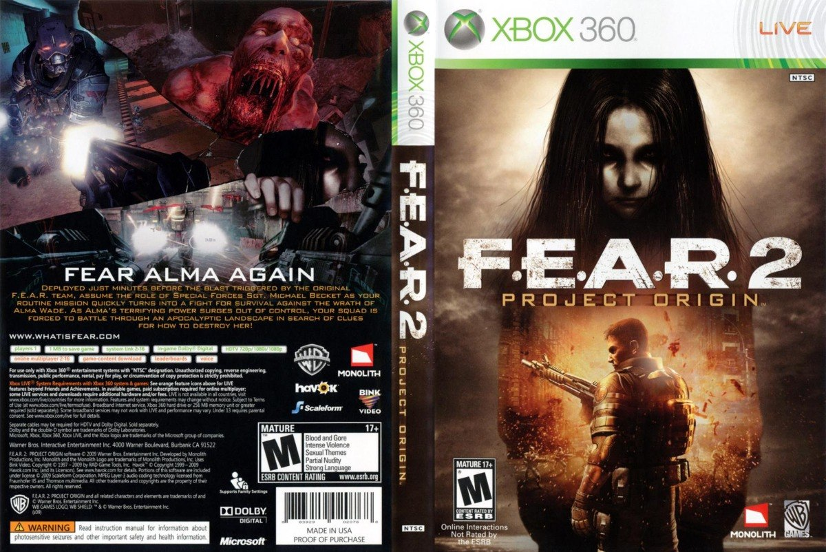 Fear 2 gameplay pc max settings youtube.