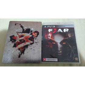 Fear 3 Ps3 Com Steelbook Zero , Sem Uso