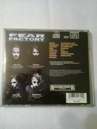 fear factory soul of a new machine roadrunner 1992