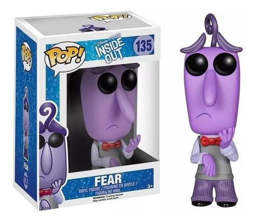 fear miedo funko pop intensamente película inside out pixar