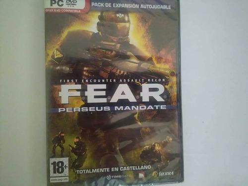 fear perseus mandate pc