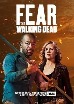Fear The Walking Dead 1,2 E 3 E 4° Temporada Dublada - R$ 33,99 em ...