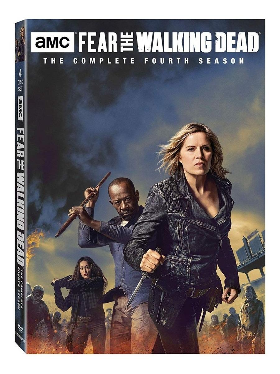 Fear The Walking Dead Cuarta Temporada 4 Cuatro Dvd
