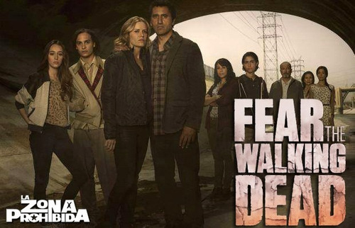fear the walking dead temporada 1 completa en dvd