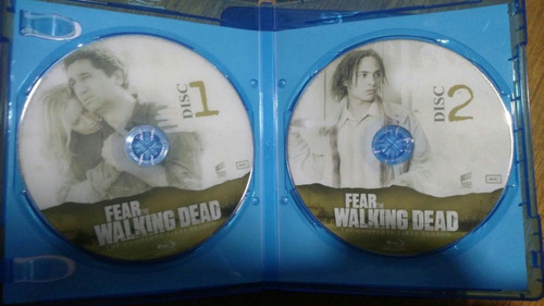 fear the walking dead temporadas 1,2,3&4 blu-ray
