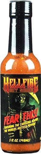 fear this! hot sauce, 148ml