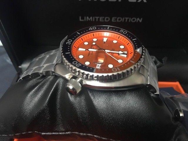 purchase cheap e02f6 2dd09 Fecha De Último Seiko Prospex Naranja Tortuga Srpc95k1 Asia