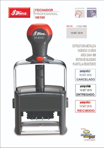 fechador automatico profesional shiny h6100 con oferta
