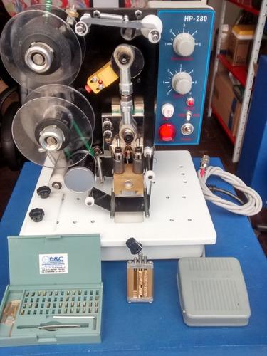 fechadora codificadora semiautomatica proveedor industrial