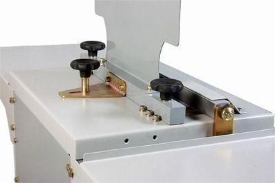 fechadora elétrica garra de  duplo anel (wire-o) elx 500