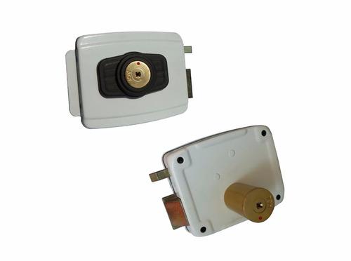 Fechadura Elétrica Portão Agl Reversível Tetra Chave - R