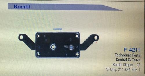 fechadura da porta do meio c/ trava kombi clipper até 97