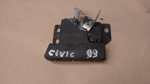 fechadura de capo honda civic 9900