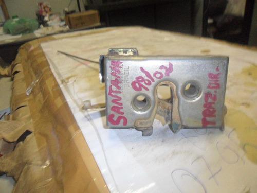 fechadura de porta traseira direita vw santana 1998/2002