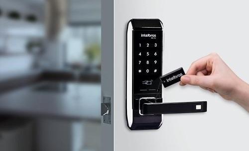 fechadura digital fr 320 fechadura de maçaneta com embutir