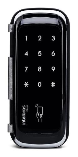 fechadura digital fr400 touch screen porta de vidro - intelb