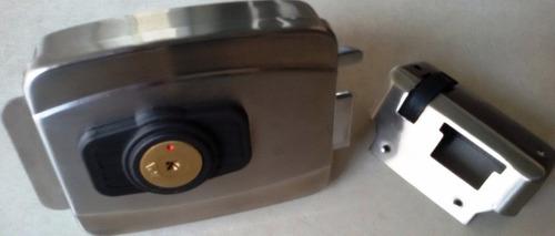 Fechadura Elétrica Agl Inox Tetra Modelo Novo Portão E