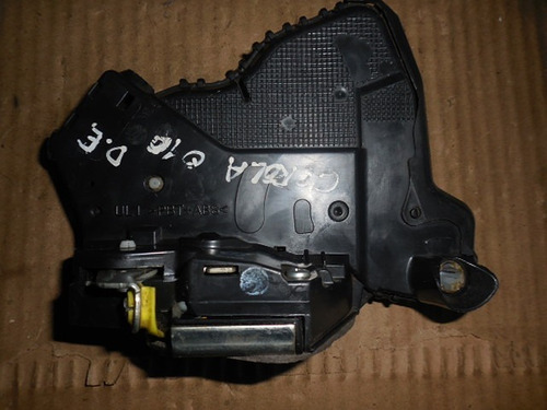 fechadura elétrica dianteira l. esquerdo toyota corolla 2010