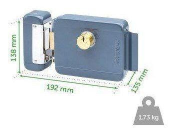 fechadura eletrica intelbras fx 2000 para portão / interfone