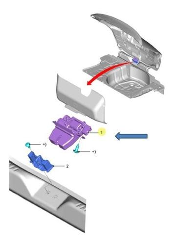 fechadura elétrica tampa traseira  ford ka  (hatch) 2015...