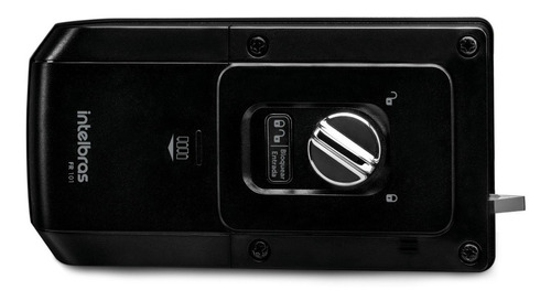 fechadura eletrônica digital com senha fr101 intelbras