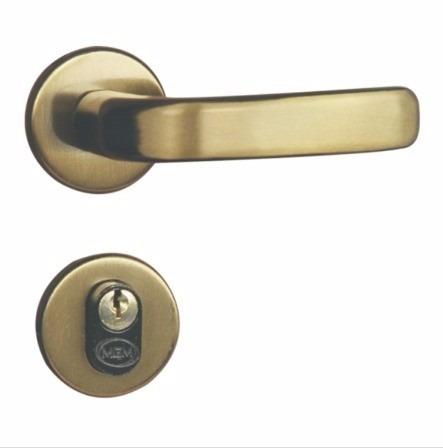 fechadura externa mgm stilo roseta redonda bronze latonado