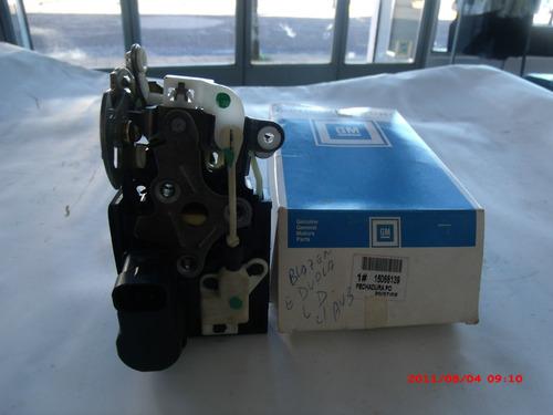fechadura porta dianteira direita s-10 g. dupla ou blazer